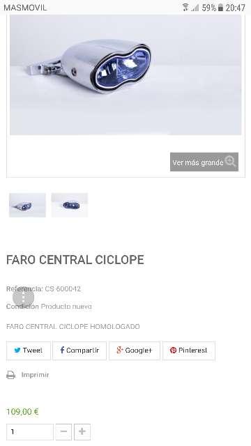 Imagen Faro Custom muy bonito para personalizar