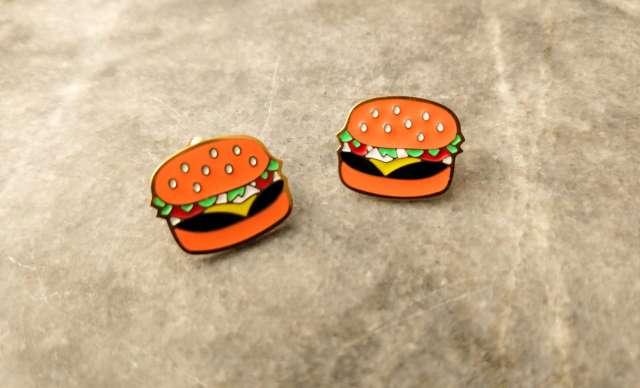 Imagen producto Aretes de frutas & hamburguesa 2