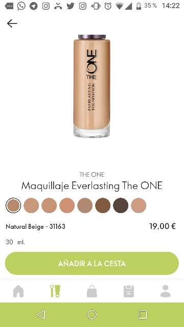 Imagen Maquillaje Everlasting The ONE