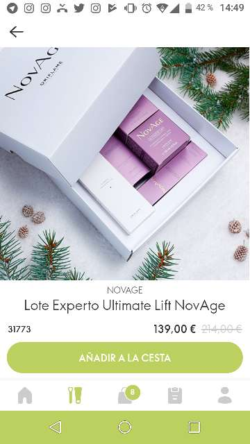 Imagen Lote Experto Ultimate Lift NovAge