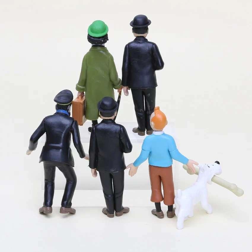Imagen producto Figuras Tintin  3