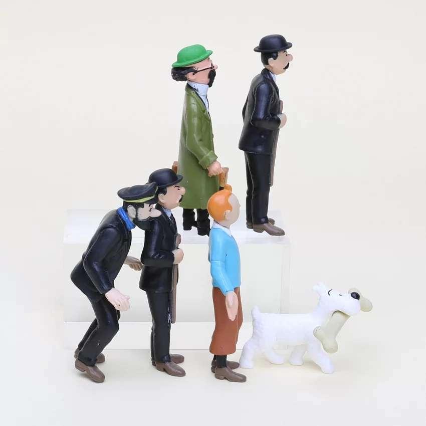 Imagen producto Figuras Tintin  2