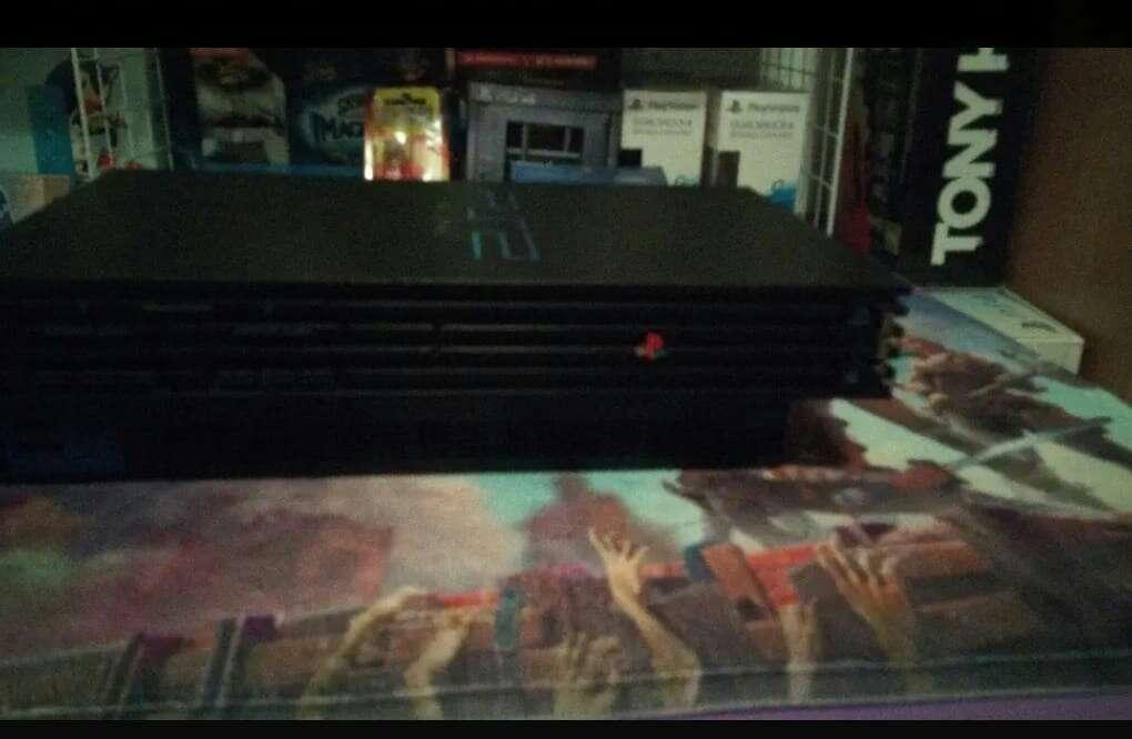 Imagen PS2 negra
