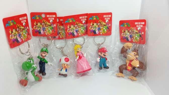 Imagen llaveros de Mario Bros