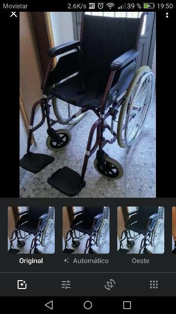 Imagen silla de ruedas manual