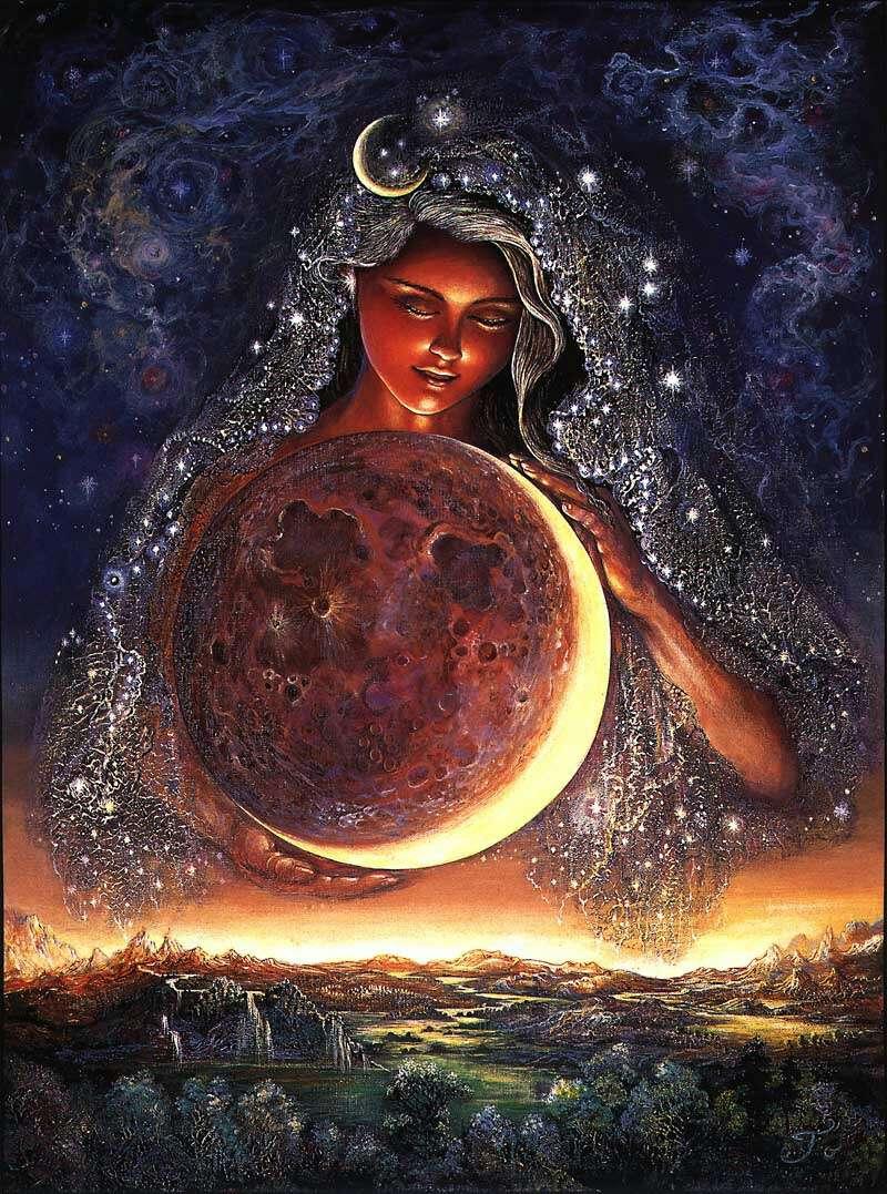 Imagen Tarot de la Luna