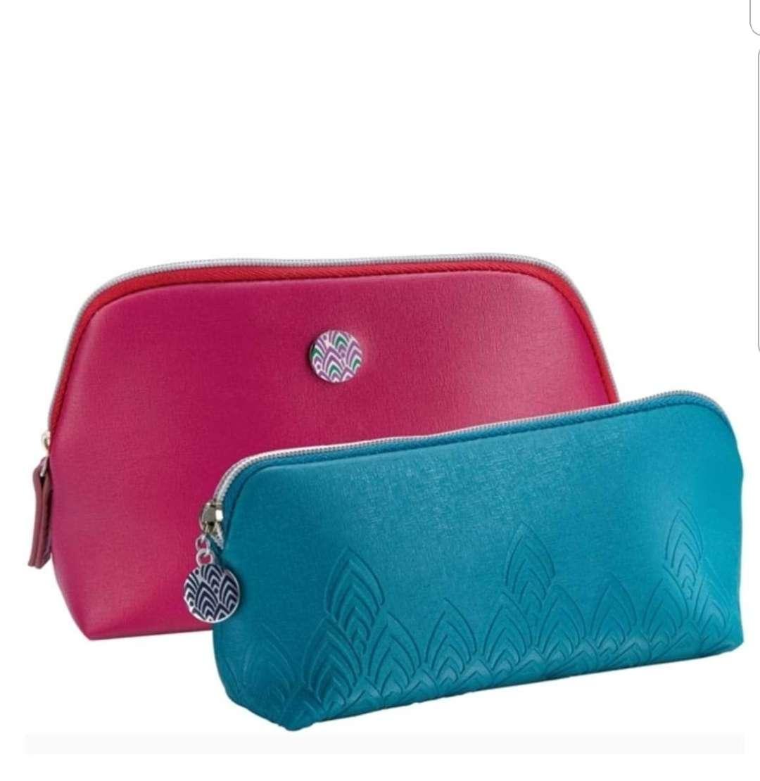 Imagen Ser de 2 bolsas para cosméticos