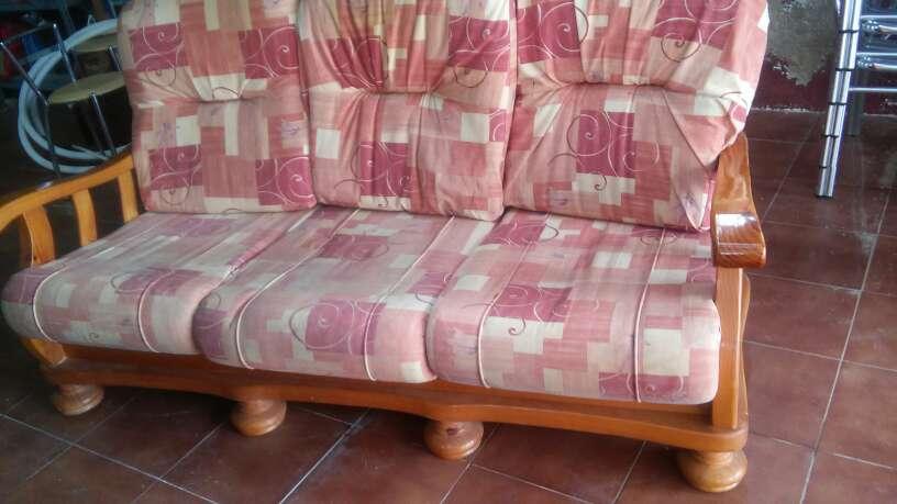 Imagen sofa rustico 3plazas