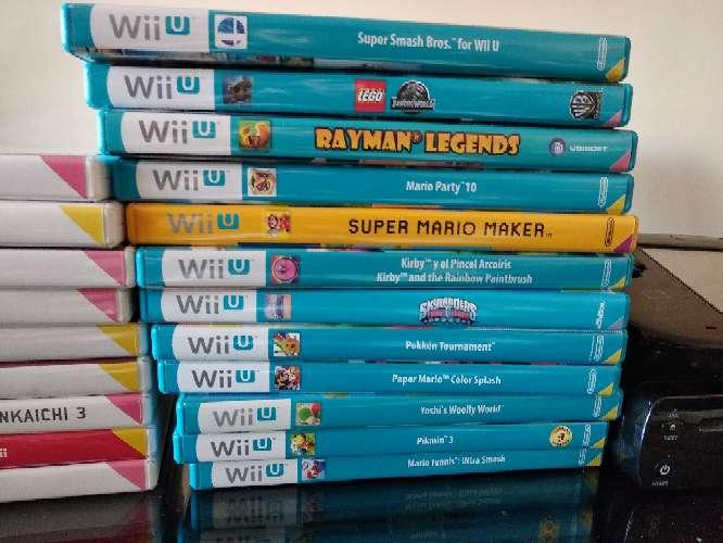 Imagen producto Wii U + juegos 2