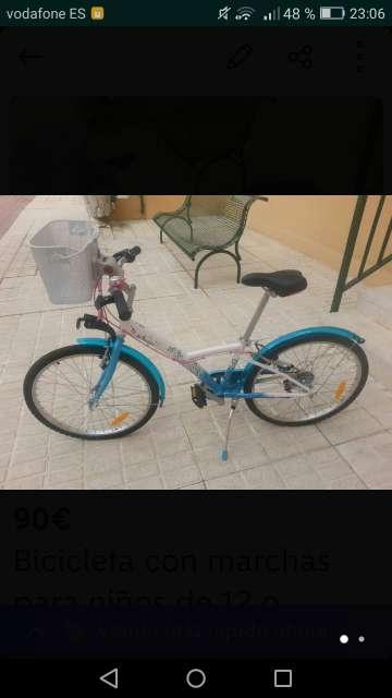 Imagen Bicicleta niñ@s en perfectas condiciones.