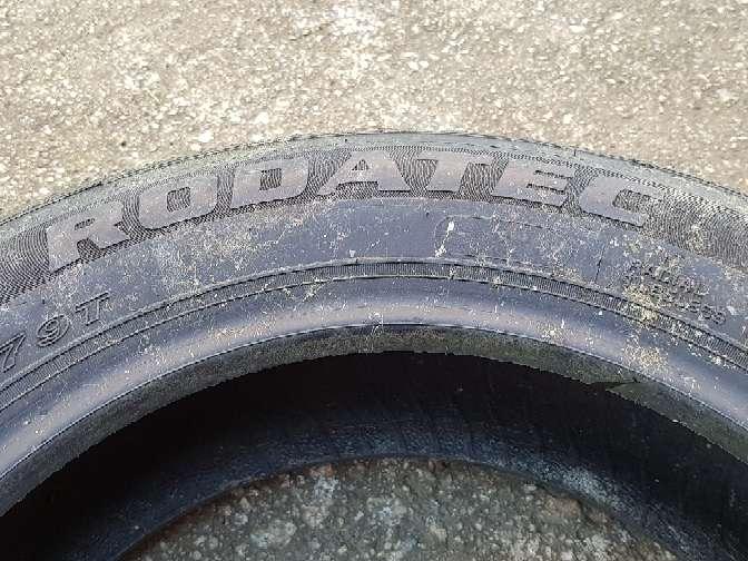 Imagen producto Se vende rueda de coche.las medidas están en las fotos. 3