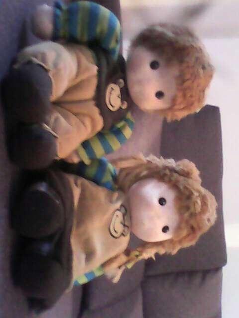 Imagen pareja de muñecos de cuerda
