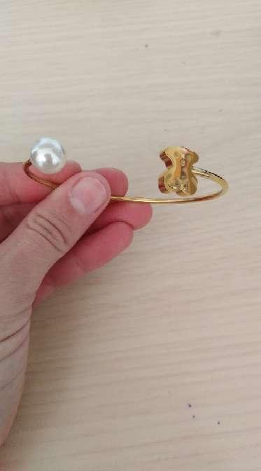 Imagen producto Pulsera con detalle de perla  3