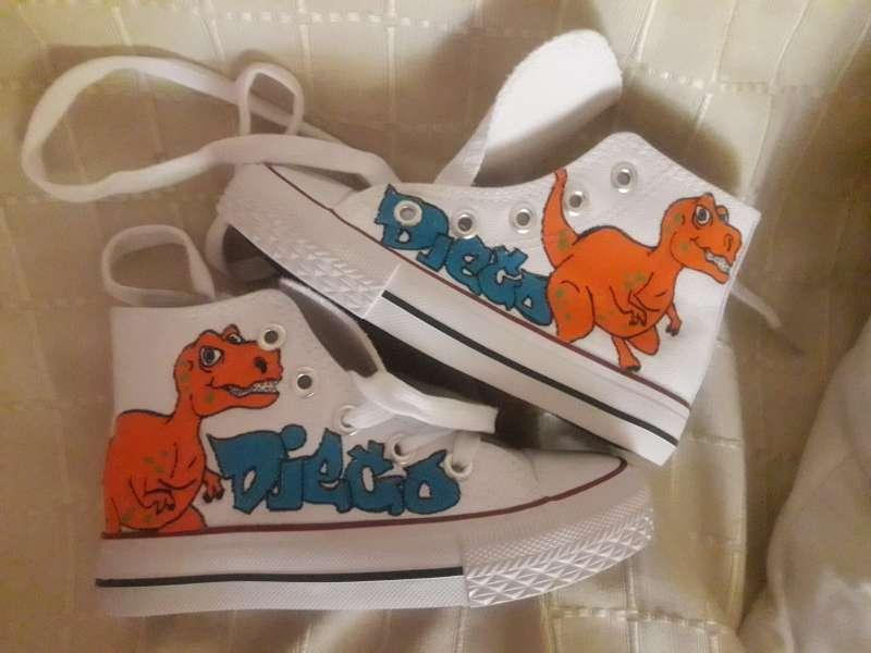 Imagen Botas dinosaurio