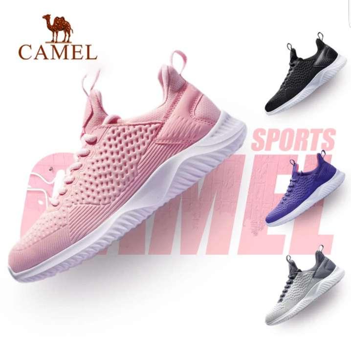 Imagen producto Zapatos deportivos sneakers zapatillas camel rosa mujer 2