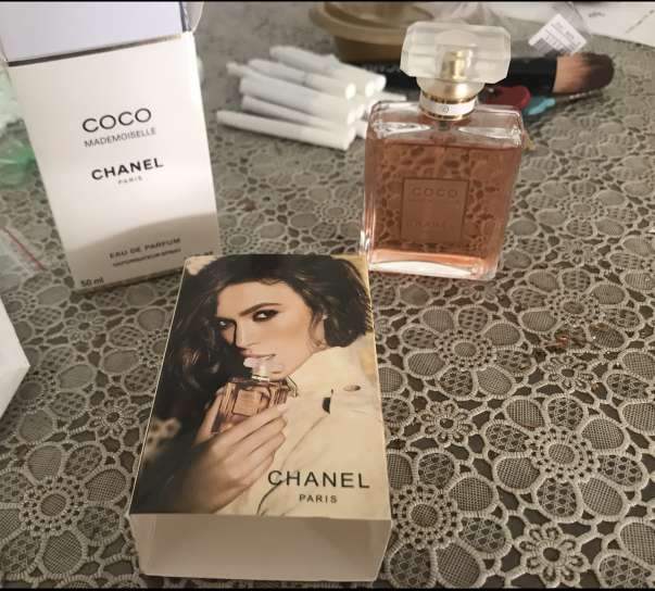 Imagen COCO MADEMOISELLE CHANEL perfume made in PARIS