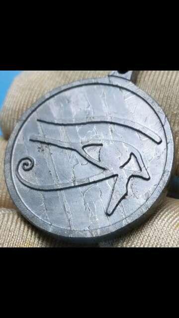 Imagen meteorito seymchan tallado ojo