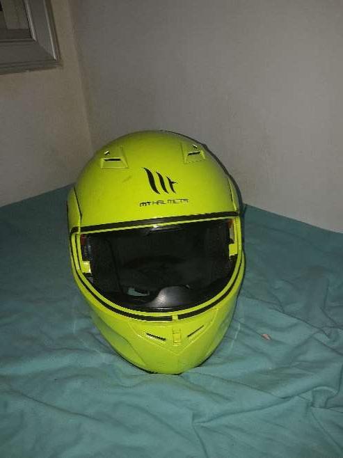 Imagen casco Mt Telmex 3xl