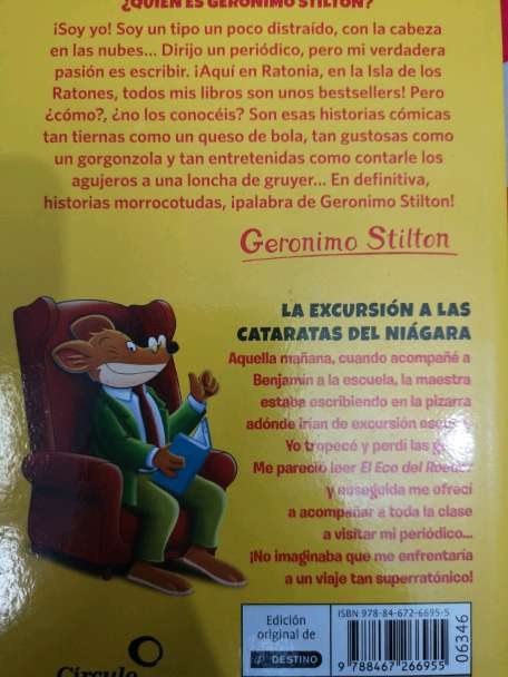 Imagen producto Libro de Geronimo Stilton 2