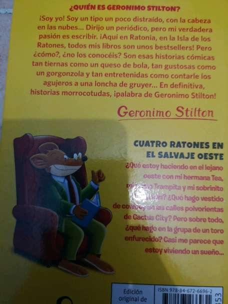 Imagen producto Cuatro ratones en el salvaje oeste 2