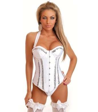 Imagen corset blanco