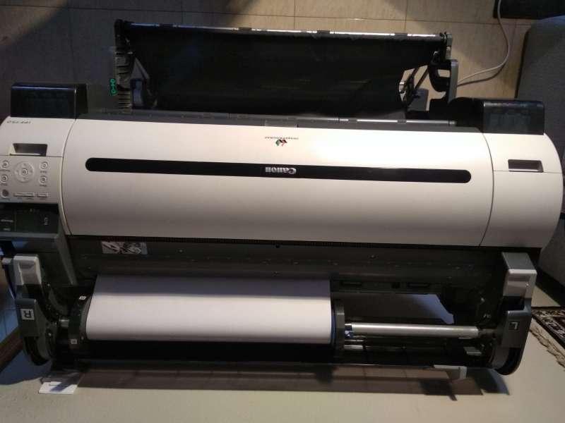 Imagen Plotter de impresión iPF750 ,gran tamaño hasta A0