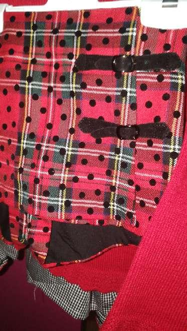 Imagen producto Conjunto Eva castro completo y vestido (ideal mellizas) mirelle t5 2