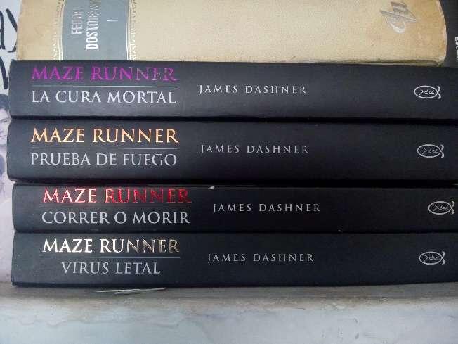 Imagen saga maze Runner original + libro regalo sorpresa