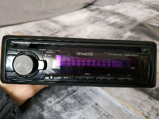 Imagen vendo autorradio Kenwood con USB modelo 1691B0112816