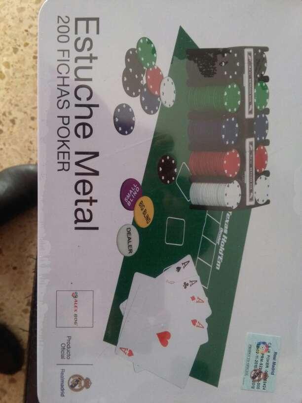 Imagen producto Juego de poker Real Madrid 1