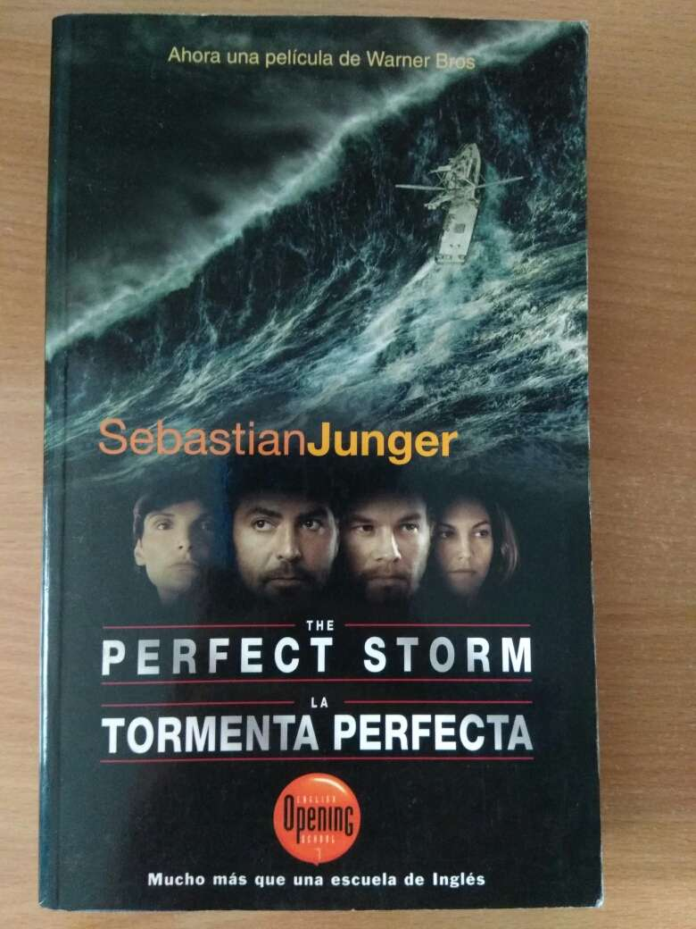 Imagen La tormenta perfecta en Inglés y español