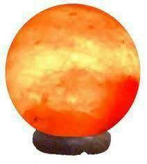 Imagen Lámpara de Sal Esfera Pequeña