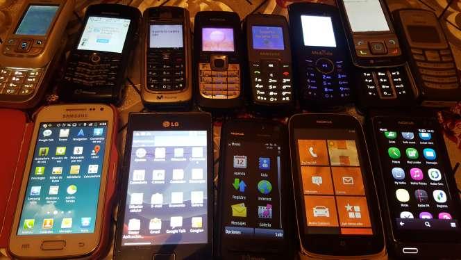 Imagen producto Lote móviles fonciona 4