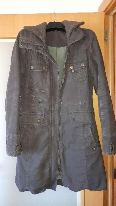 Imagen Abrigo-chaqueta marrón T42