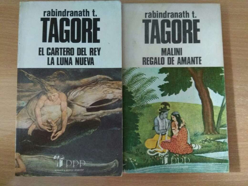Imagen Libros de poesía de Rabindranath Tagore