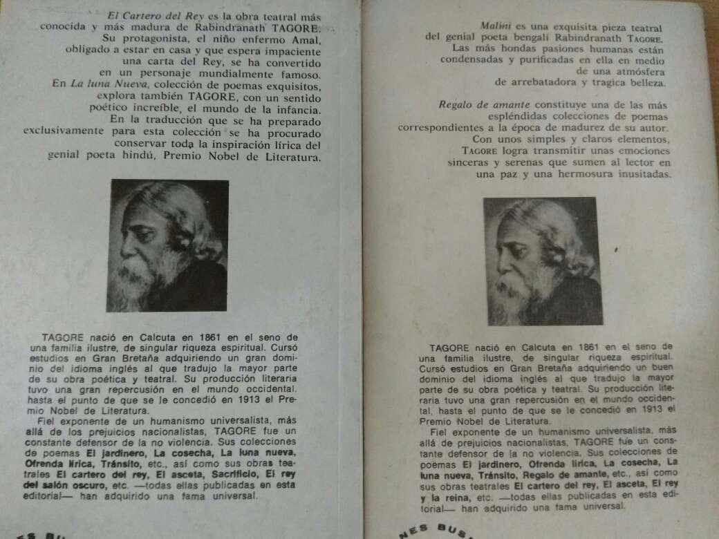 Imagen producto Libros de poesía de Rabindranath Tagore 2