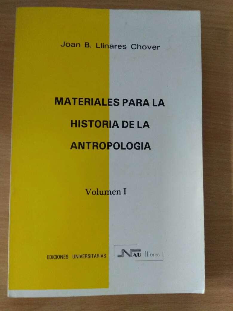 Imagen producto Materiales para la historia de la antropología 1