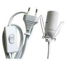 Imagen Cable Lámpara de sal con bombilla N.º de producto: 140701