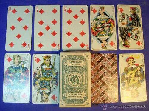 Imagen Tarot Español 11.5 x 6.5cm Referencia: 380181