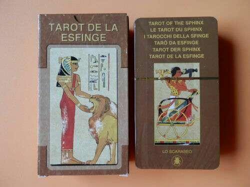 Imagen Tarot de la esfinge