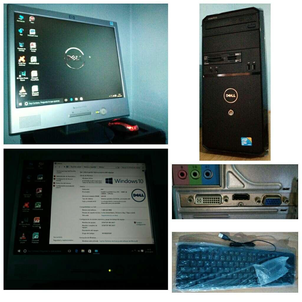 Imagen Ordenador Dell Windows10 Original+Wifi
