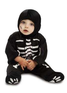 Imagen Disfraz de esqueleto bebé. 7-12 meses.
