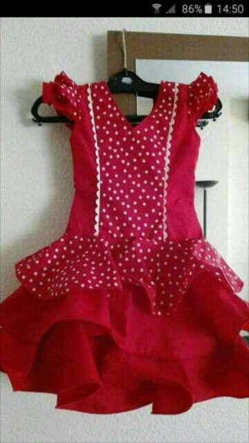 Imagen producto Vestido flamenca niña 1
