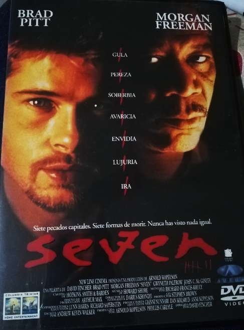 Imagen Película original Seven en DVD
