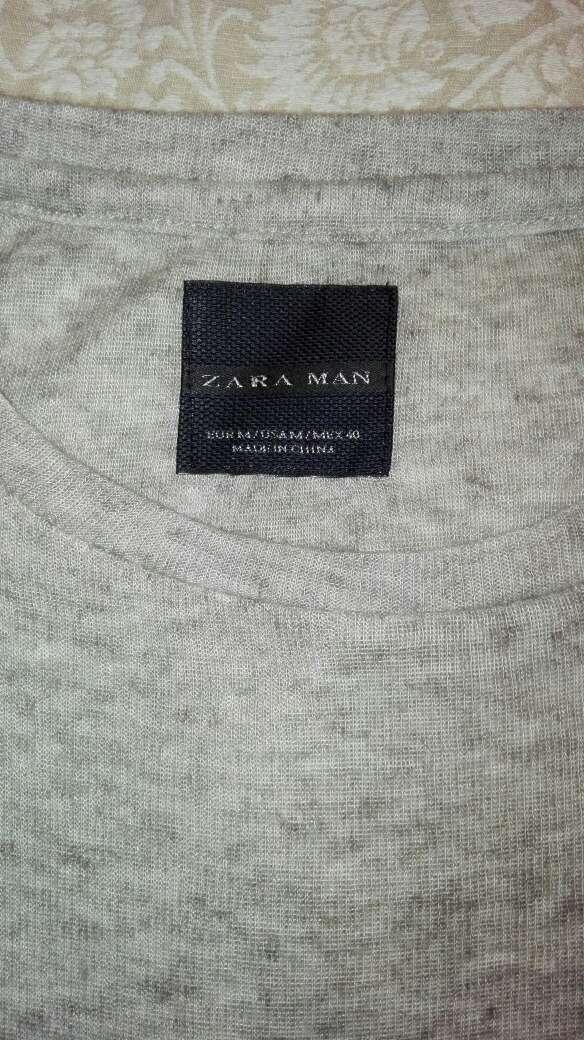 Imagen producto Camiseta zara manga larga 4