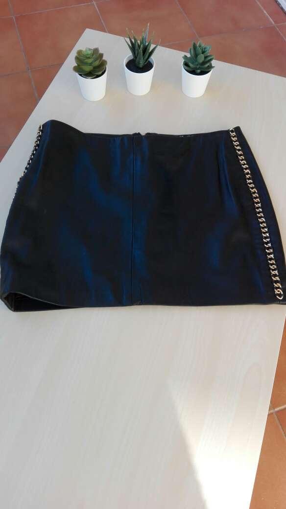 Imagen producto Falda cuero Zara 2