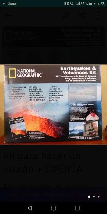 Imagen Kit para hacer un volcán