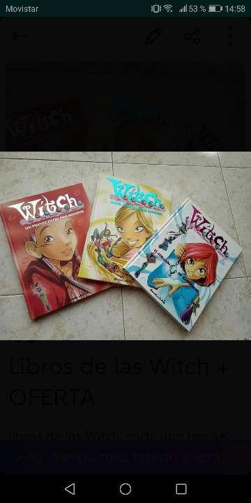 Imagen Pack de libros de las Witch