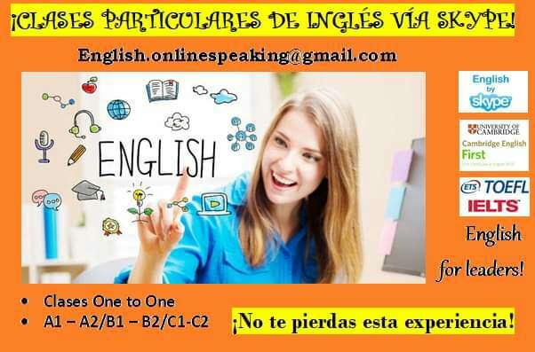 Imagen Clases de Inglés online - A1-A2-B1-B2-C1-C2