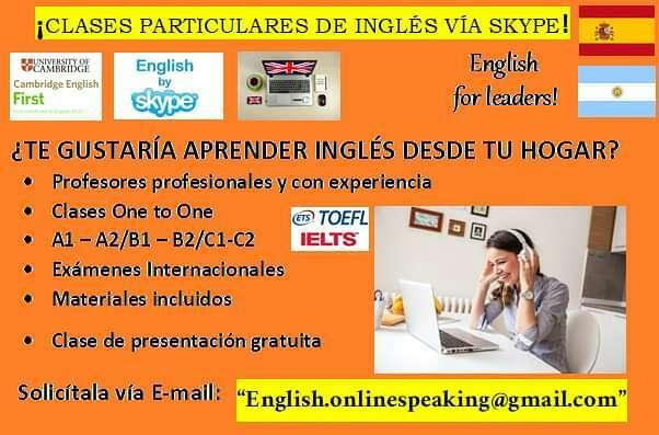 Imagen producto Clases de Inglés online - A1-A2-B1-B2-C1-C2 2